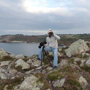 Comptage concerté des Craves à bec rouge en presqu'île de Crozon