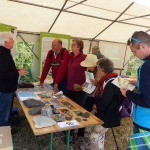 Stand d'information sur la réserve naturelle