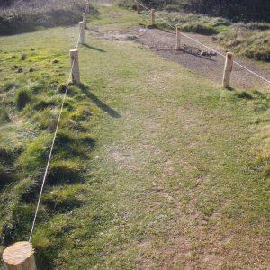 Aménagement de l'accès à la pointe de Lostmarc'h (Crozon) par le Conservatoire du littoral