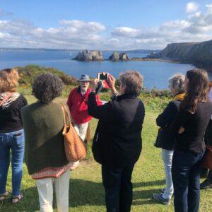 Visite d'évaluation de l'UNESCO pour l'obtention du label Géoparc