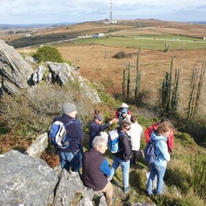 Participation aux journées de formation du Geopark Armorique sur la géologie et les paysages
