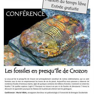 Conférence sur «les fossiles en presqu'île de Crozon»