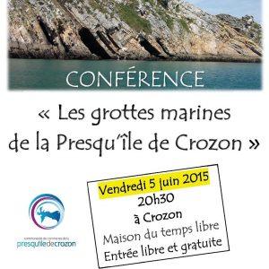 Conférence sur les grottes marines de la Presqu'île de Crozon