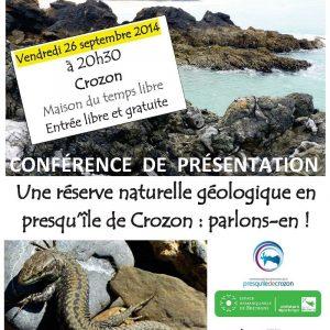 Conférence de présentation de la Réserve naturelle