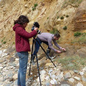 """Tournage des Brèves de nature n°9 sur """"l'Occupation préhistorique de la presqu'île de Crozon"""""""