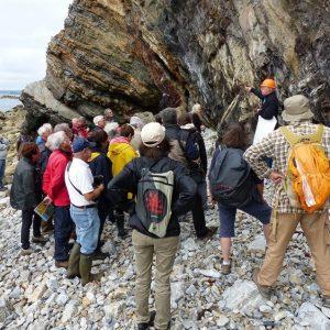 AG de la SGMB : Excursion géologique sur la réserve naturelle