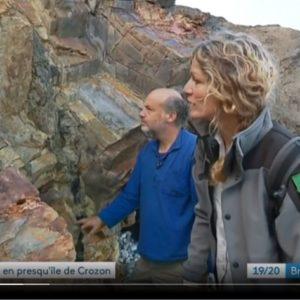 Tournage d'un reportage «balade en presqu'île de Crozon»